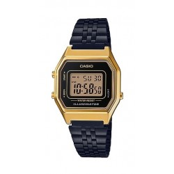 Casio Vintage Series Digital Gold Square Ladies Watch - (LA680WEGB-1ADF)