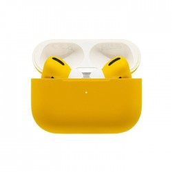 Switch Paint Apple Airpods Pro Wireless - Lamborghini Matte Yellow Price in Kuwait |