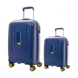 حقائب السفر الصلبة لايتراكس من أمريكان توريستر - ٥٥ سم + ٧٩ سم (AD8X21006) - أزرق بحري