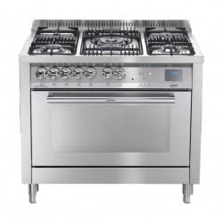طباخ غاز لوفرا بفرن – ٥ شُعلات – ١٠٠ × ٦٠ سم - (PG106G2VGT/UÌ)