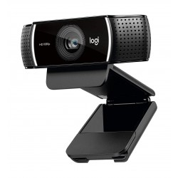 Logitech C922 C922 Pro Stream USB Webcam (960-001088) - Black