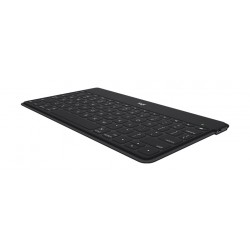 Logitech KEYS-TO-GO Ultra-Portable Standalone Wireless Bluetooth Keyboard - Black