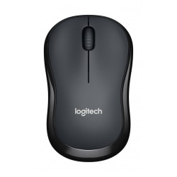 Logitech M220 Silent Wireless Mouse (910-004878) - Black