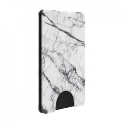 حامل البطاقات قابل للإزالة للهواتف الذكية من بوب واليت – ماربيل أبيض (800860)