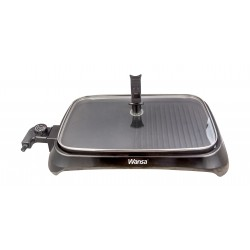Wansa 1400 to 1600 Watts Electric Grill - (MG-7006)