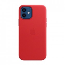 Apple iPhone 12 Pro MagSafe Leather Case Red in Kuwait | Buy Online – Xcite