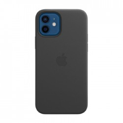 Apple iPhone 12 Pro MagSafe Black Leather Case in Kuwait | Buy Online – Xcite