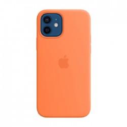 Apple iPhone 12 Pro MagSafe Kumquat Silicone Case in Kuwait | Buy Online – Xcite