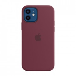 Apple iPhone 12 Pro MagSafe Plum Silicone Case in Kuwait   Buy Online – Xcite