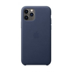 Apple iPhone 11 Pro Leather Case - Midnight Blue 2