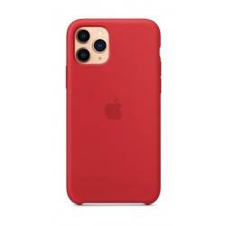 Apple iPhone 11 Pro Silicone Case - Red 2