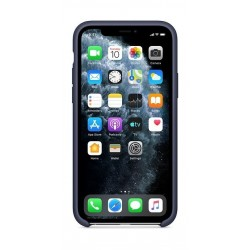 Apple iPhone 11 Pro Silicone Case - Midnight Blue 2