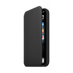 Apple iPhone 11 Pro Leather Folio Case - Black 2