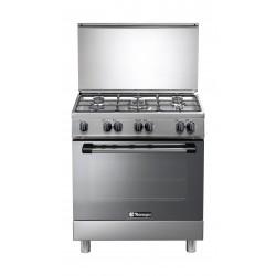 طباخ الغاز القائم من تكنو غاز – ٩٠ x ٦٠ سم – ٥ شعلات (N3X96G5VE)