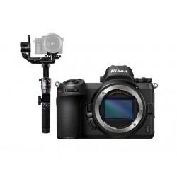 نيكون Z 7 كاميرا ديجيتال بدون مرايا مع (الهيكل فقط) + حامل الكاميرات اليدوي المتزن AK2000مع واي فاي من فيو تك