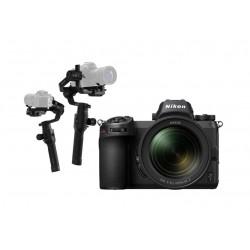 كاميرا نيكون الرقمية z 7 بدون مرآة مع عدسة 24-70 ملم + الحامل الموازن رونين – إس – على 3 محاور لكاميرا دي إس إل آر من دي جاي آي