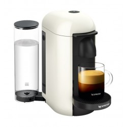 Nespresso VertuoPlus Deluxe Coffee and Espresso Machine - White