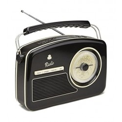 GPO DAB Retro Digital Radios - Black