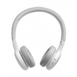 JBL Live 400BT On-Ear Wireless Headphones- White 6