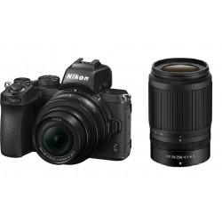 كاميرا نيكون الرقمية زد 50 بدون مرآة مع عدسة 16-50 ملم وعدسة 50-250 ملم