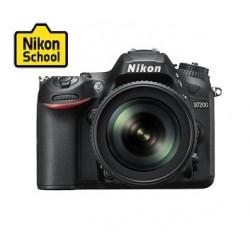 كاميرا نيكون دي إس إل آر ٣.٢ بوصة - ١٨ - ١٤٠ مم ٢٤ ميجا بكسل - أسود - D-7200