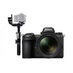 كاميرا نيكون الرقمية z 6 بدون مرآة مع عدسة 24-70 ملم+ حامل الكاميرات اليدوي المتزن AK2000مع واي فاي من فيو تك