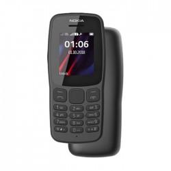 هاتف نوكيا 106 بسعة 4 ميجابكسل - رمادي