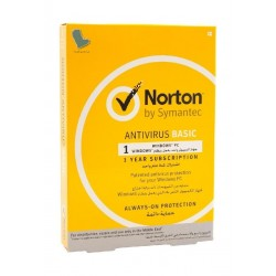 Symantec Norton Antivirus Basic 1 User 3 Device 1 Year Subscription