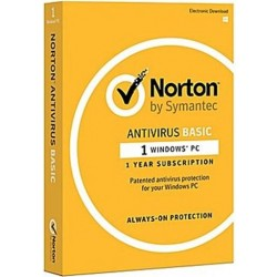 Symantic Norton Anti-Virus Basic 1.0 Arabic (21369458) - 1 User  1 Device 1 Year