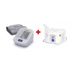 Omron BPM-UA M2 Blood Presure Monitor + NE-C900 E Nebulizer
