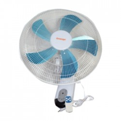 "Orange 18"" Metal Blade Wall Fan in Kuwait 