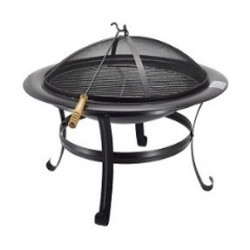Orange 30-inch Fire Pit Grill - (BB01OF760E)
