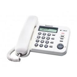 Panasonic Corded Telephone (KX-TS580FXW) - White