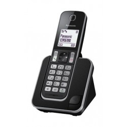 Panasonic Cordless Phone (KX-TGD310UEB) - Black