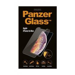 واقي الشاشة الزجاجي من بانزر لهاتف أيفون إكس إس ماكس (2639) - شفاف