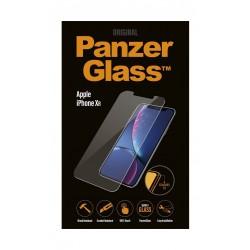 واقي الشاشة الزجاجي من بانزر لهاتف أيفون إكس آر (2638) - شفاف