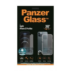 PanzerGlass iPhone 12 Pro Max Exclusive Bundle Standard Glass with Case - Clear