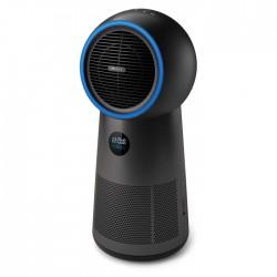 Philips Heater & Fan Air Purifier black side angle xcite buy in Kuwait