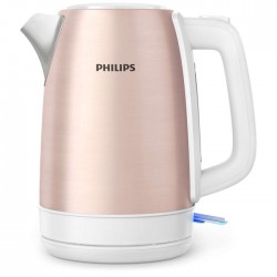 Philips Pink Kettle cheap metal white sliver big buy in xcite kuwait