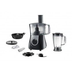 Wansa 750W Food Processor (FP-8001) - Black