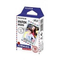 فيلم لكاميرا إنستاكس الصغيرة بتصميم البريد الجوي من فوجي فيلم – ١٠ أوراق في العلبة