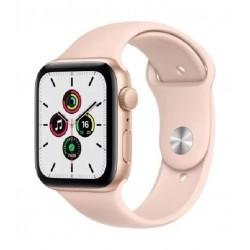 Apple Watch SE 40mm Aluminum Case Smart Watch (MYEH2AE/A) - Gold Pink Sports