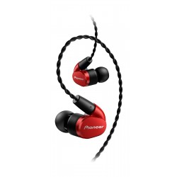 Pioneer Tangle Resistant Premium In-Ear Wired Earphones (SE-CH9T-R) - Red