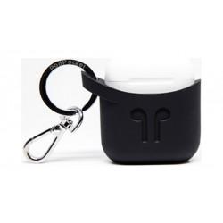 Podpocket Apple Airpod Keychain Carrying Case - Midnight Black