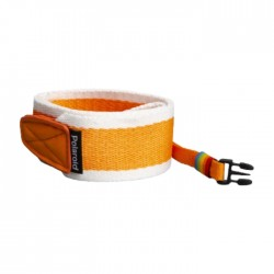 Polaroid Flat Orange Stripe Camera Strap in Kuwait | Buy Online – Xcite
