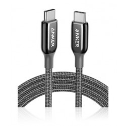 Anker PowerLine + III USB-C to USB-C Cable (6 Feet) - Black