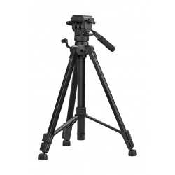 Promate Aluminum Portable and Adjustable Camera Tripod (Precise-170) - 170 cm