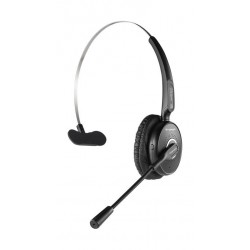 Promate Engage HD Voice Clarity Over Ear Mono Headphone - Black