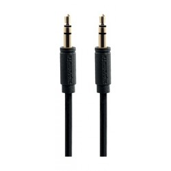Promate linkMate 3 Meters 3.5mm AUX Cable - Black