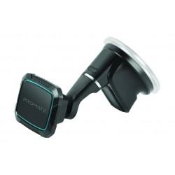 Promate MagMount-5 Anti-Slip Cradle Free Magnetic Car Mount - Blue